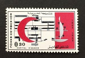 Morocco 1963 #97, Red Cross, MNH.