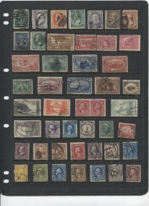 STAMP STATION PERTH -US #47 Used Stamps - Unchecked