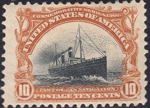 U.S. 299 VF++ MH WIDE (120318)
