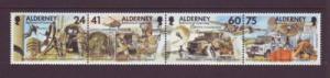 Alderney Sc 91 1996 Signal Regiment stamps mint NH