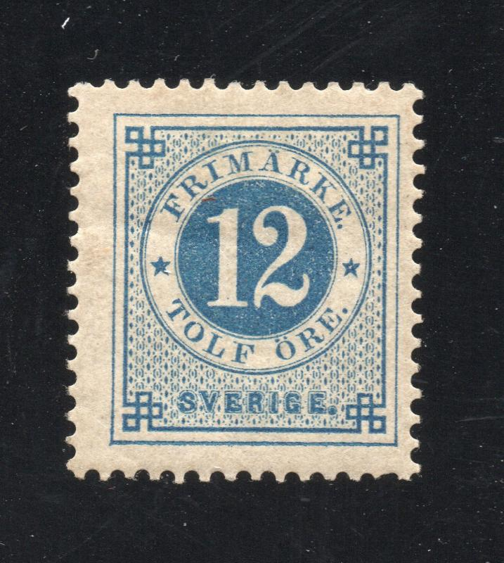 Sweden - Sc# 32 MH / Perf 13  -  Lot 1218220