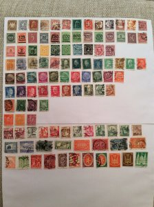 Early German 100+ stamps - Lot B