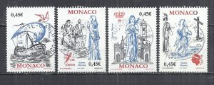 MONACO 2003 - SAINT DEVOTA - CPL. SET - USED