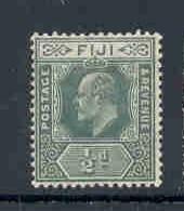 Fiji Sc 70A 1908 1/2d green E VII stamp mint