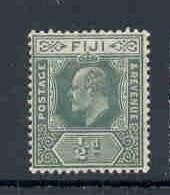 Fiji Sc 70A 1908 1/2d green E VII stamp mint