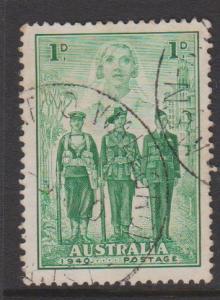 Australia Sc#184 Used