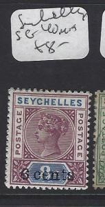SEYCHELLES  (P1807B)  QV  6C/8C   SG 40   MOG