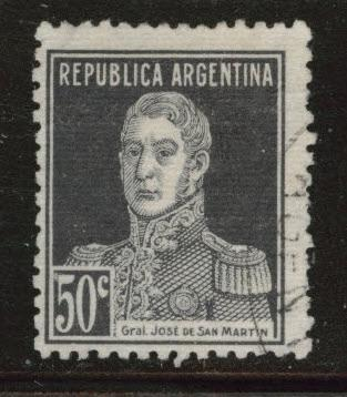 Argentina Scott 352 Used stamp