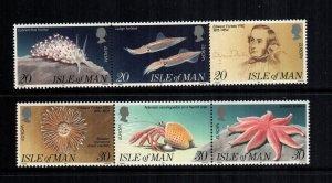 Isle of Man  596a - 599a MNH $6.00