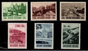 Belgium Scott B538-43 Mint NH (Catalog Value $90.00)