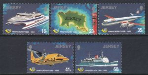 685-89 Postal Independence Anniversary MNH