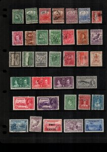 Newfoundland  mint & used lot of 34