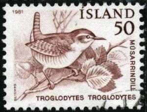 ICELAND #543, USED - 1981 - ICE397AFF6