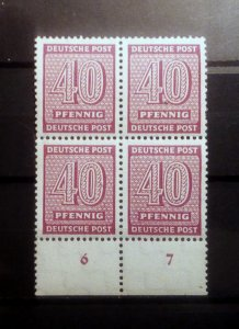 Germany West Sachsen 136 mnh