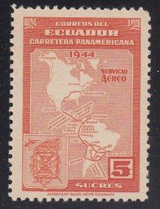 Ecuador - 1946 - SC C150 - NH - pencil on back