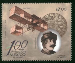 MEXICO 2668, 100th Anniv. First Flight in Mexico MINT, NH. VF.