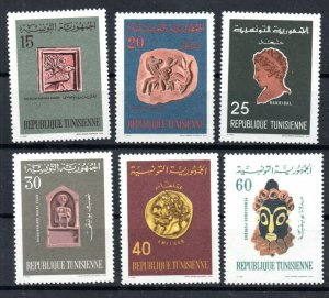 1967 - Tunisia - Works of Art from the History of Tunisia- Complete set 6v.MNH**