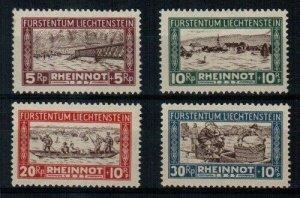 Liechtenstein Scott B7-10 Mint NH (#B8 is hinged)