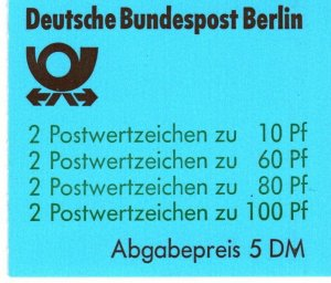 Germany #9N553a Complete Booklet CV $45.00 (X6889)