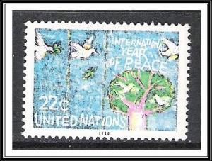 UN New York #475 Bird's Nests MNH
