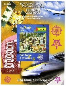 Sao Tome & Principe 2006 EUROPA 50th. Anniversary Deluxe s/s Mint (NH)#1