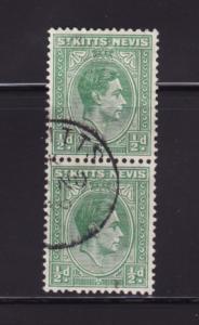 St Kitts-Nevis 79 Pair U King George VI