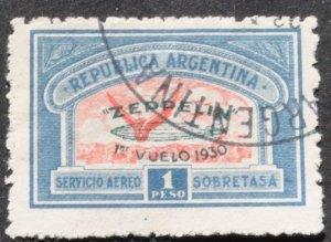 DYNAMITE Stamps: Argentina Scott #C28 – USED