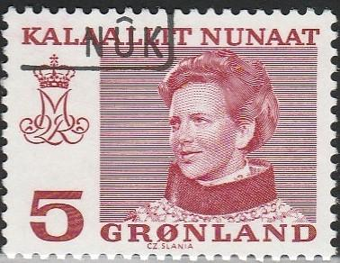 Greenland, #86 Used From 1973-79