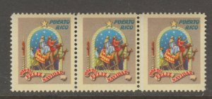 Puerto Rico Earlier mnh gum Charity Revenue fiscal stamps 1-30-21