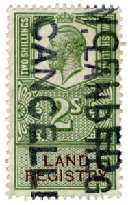 (I.B) George V Revenue : Land Registry 2/-