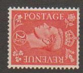 GB George VI  SG 507a wmk sideways unmounted mint