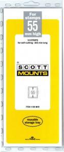 Scott Mounts Black 55mm STRIP 265mm, (Pgk. 10)(00950B)