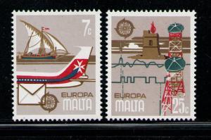 MALTA 1979 MNH SC.558/559 Europe CEPT