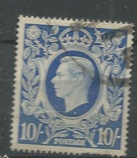Great Britain =  Scott # 251A - Used