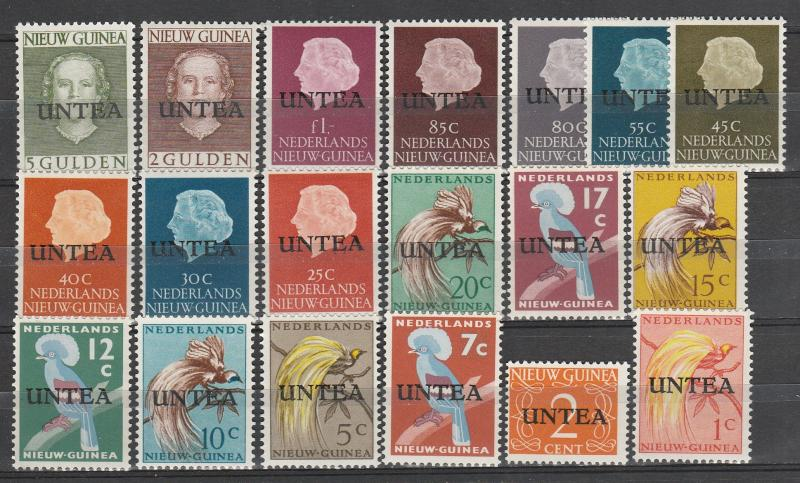 United Nations  West New Guinea #1-19 MNH CV $66.05 (A3328)