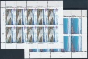Armenia stamp Europa CEPT:Life-giving water mini sheet set 2001 MNH WS221358