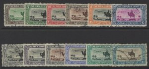 SUDAN SG49b/57d 1931-7 AIR STAMPS FINE USED