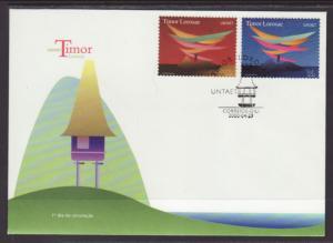 Timor 350-351 U/A FDC