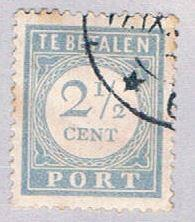 Netherlands J47 Used Numeral 1912 (BP33520)