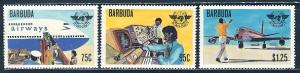 Barbuda MNH 391-3 Civil Aviation