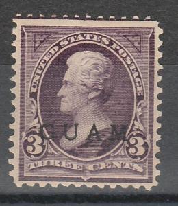 GUAM 1899 JACKSON 3C