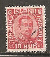 Iceland  SC  115 Used