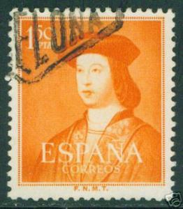 SPAIN Scott 790 Edifil 1109 Used Fernando