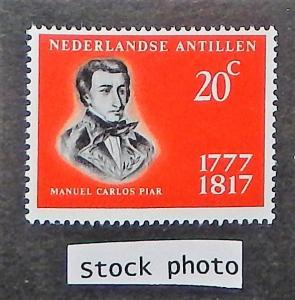Netherlands Antilles 312. 1967 Manuel Carlos Piar, NH