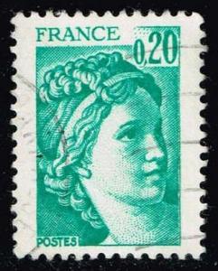 France #1565 Sabine; Used (0.25)