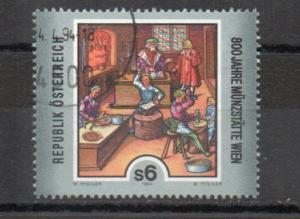 Austria 1637 used