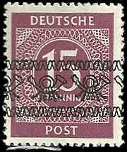 Germany - 586C - Unused - SCV-3.75