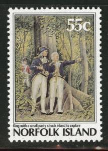 Norfolk Island Scott 430 MNH** 1987 Explorer stamp