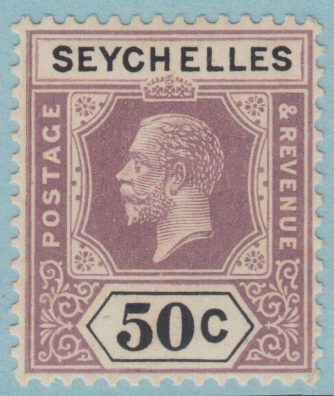 SEYCHELLES  109  MINT HINGED OG *  NO FAULTS EXTRA  FINE !