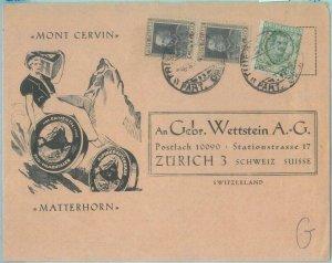 89153 - SWITZERLAND - POSTAL HISTORY -  ADVERTISING  COVER: Cheese GASTRONOMY